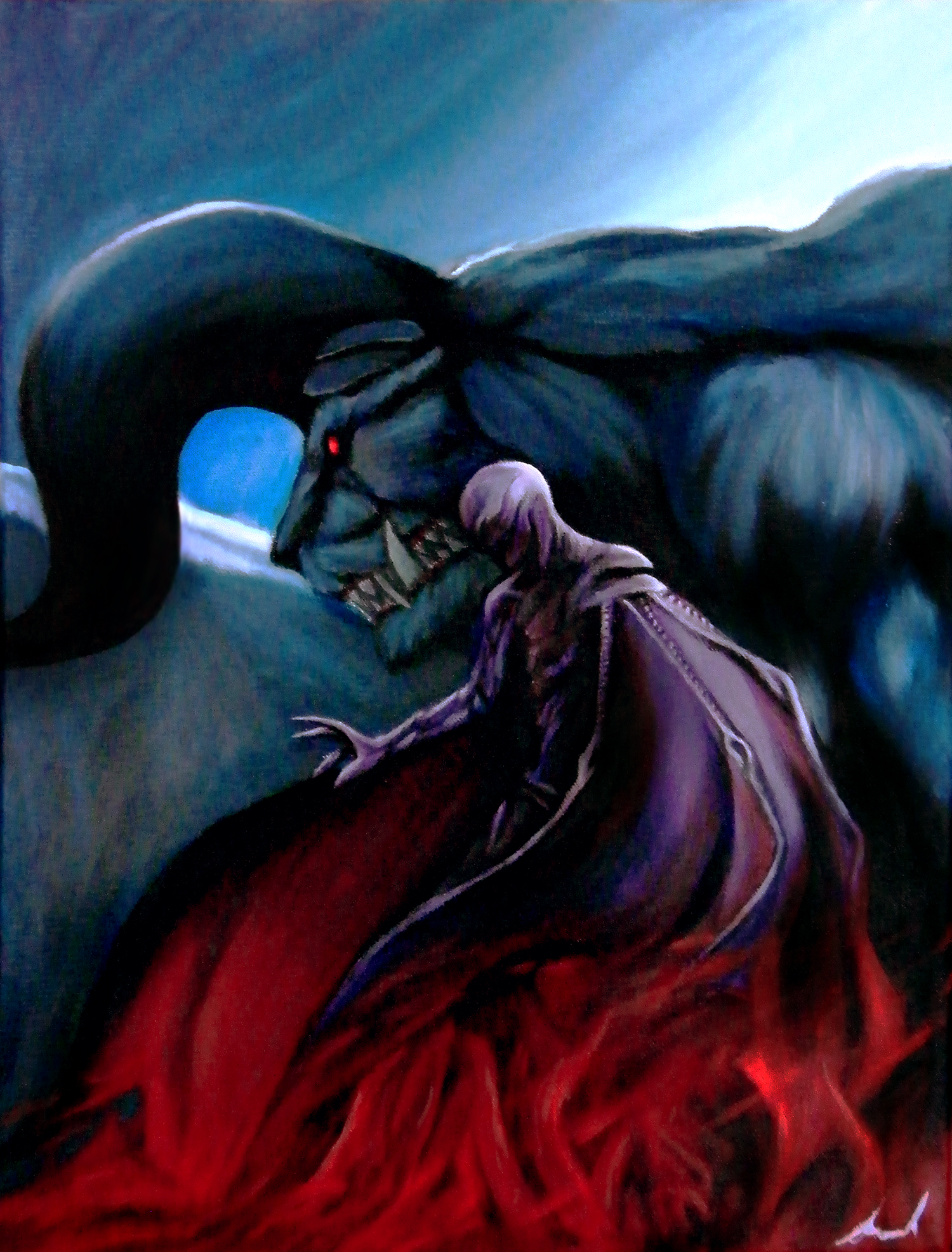 Femto and Zodd Painting
