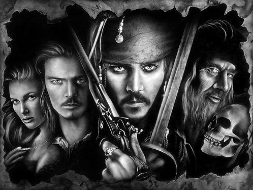 Pirates Mural PRINT