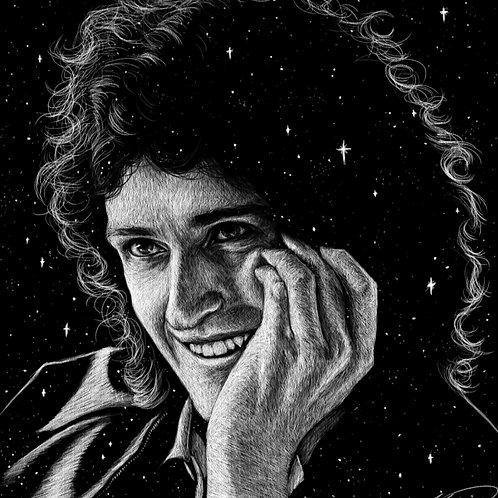 Brian May Hand Study 2 - PRINT