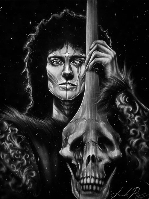 Starry Brian May - PRINT
