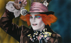 Mad Hatter - Illustration Board