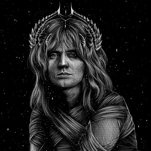 Demon Roger -Unmarked - PRINT