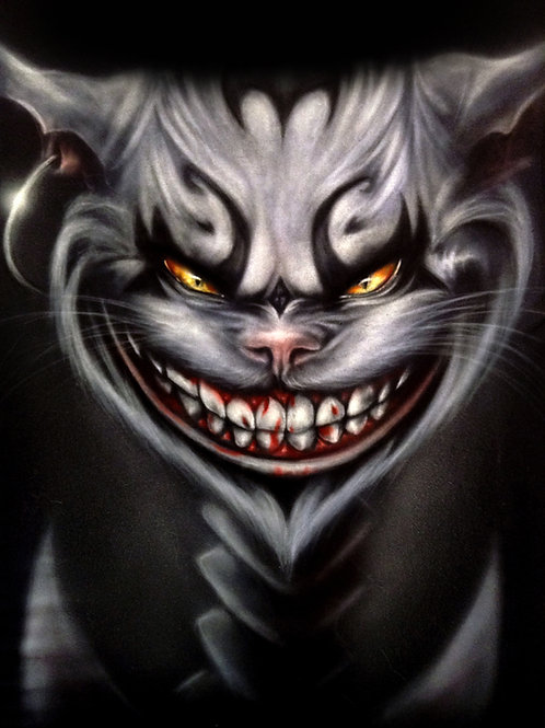 American McGee's Cheshire Cat PRINT