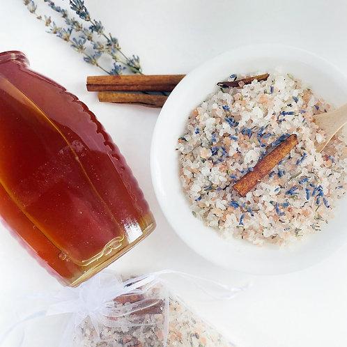 Harmony- Honey Lavender Cinnamon Bath Soak