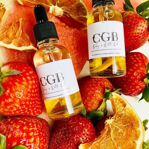 Watermelon Berry Citrus Sorbet Bath & Body Oil