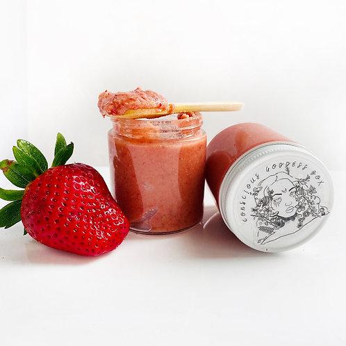 Hydrate- Strawberries N Cream Body Scrub