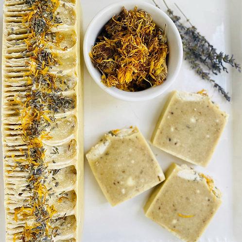 Lavender & Calendula Natural Soap Bars