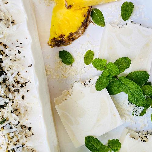 Pineapple Coconut Mojito Natural Soap Bars