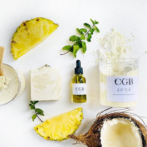 Creamy Pineapple Coconut Mojito Summer Bundle