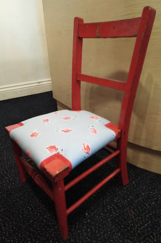 Children's Chair -Red