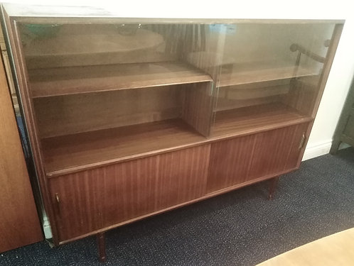 Mid-Century Bookcase Cabinet