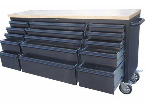 Black SS 72inch Tool Chest