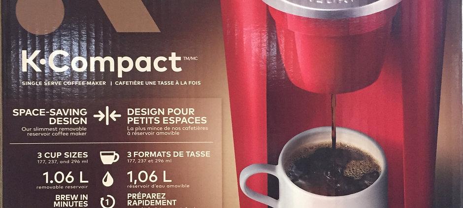 Keurig K-Compact Coffee Maker, Red