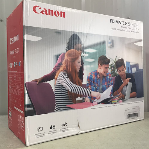 Canon PIXMA TS3320 Wireless Inkjet All-in-One Printer