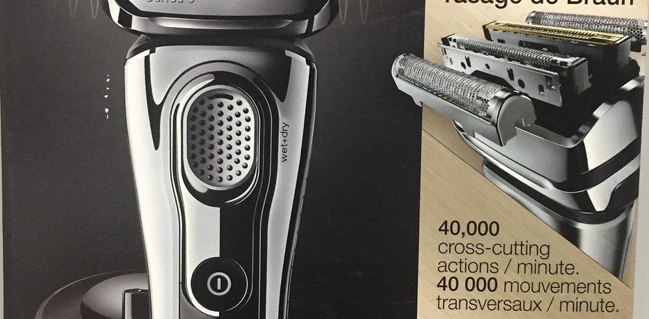 Braun Series 9 9293S Electric Shaver