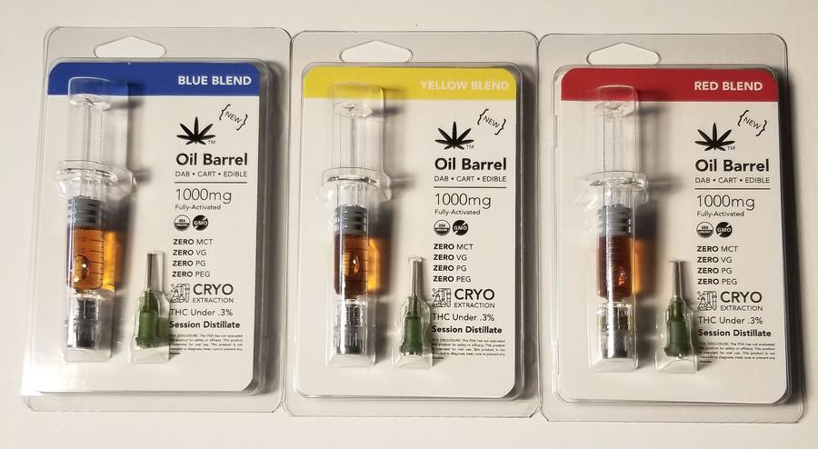 Oil Barrel THCV Distillate