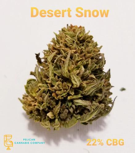 Desert Snow CBG Hemp Flower