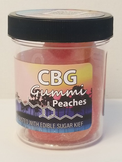 Gummi Peaches CBG 300MG