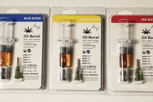 THCV/CBDV Distillate Syringe