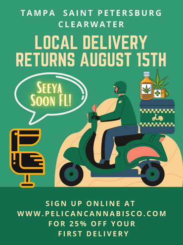 Local Delivery Returns August 15th