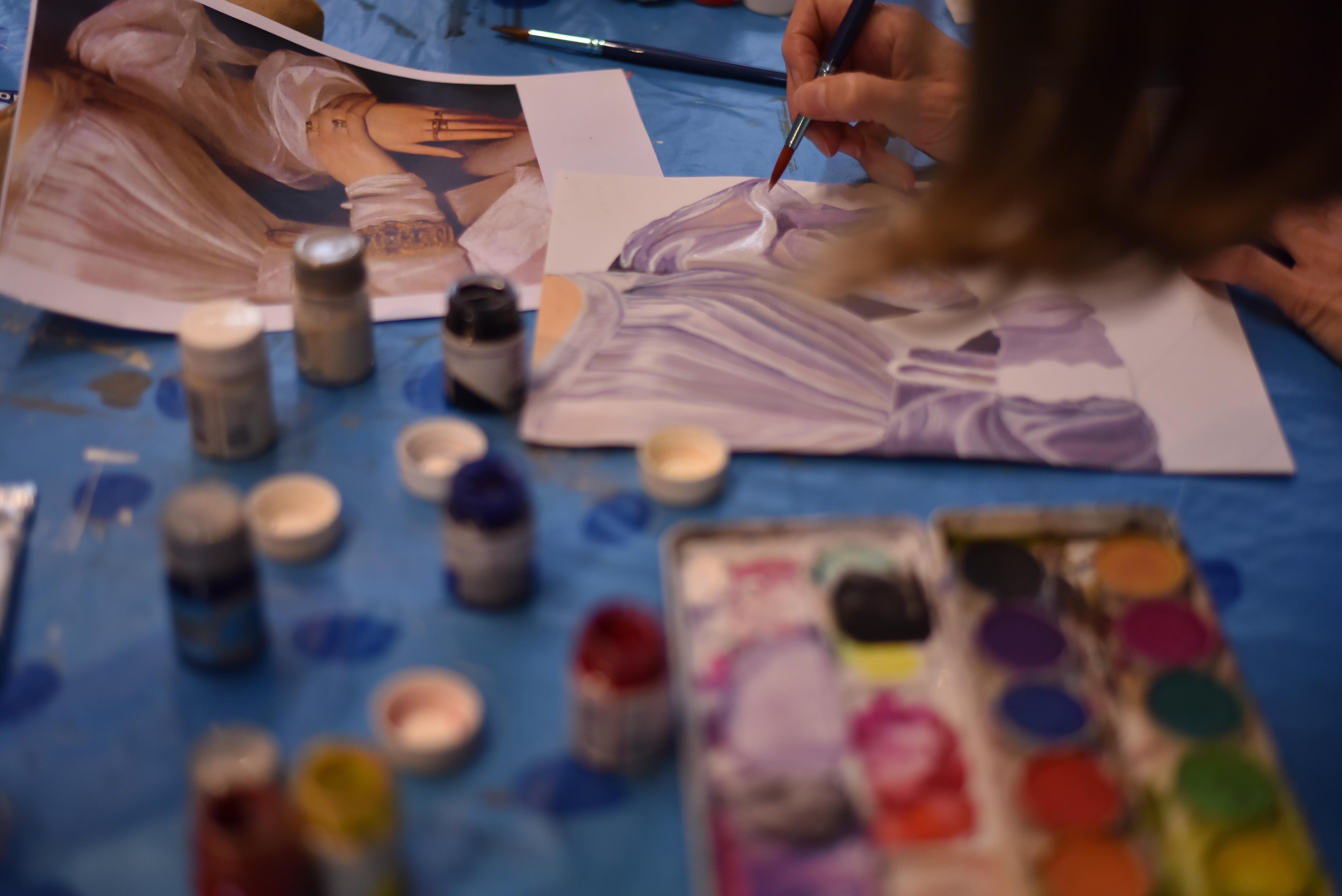 Peinture en journée