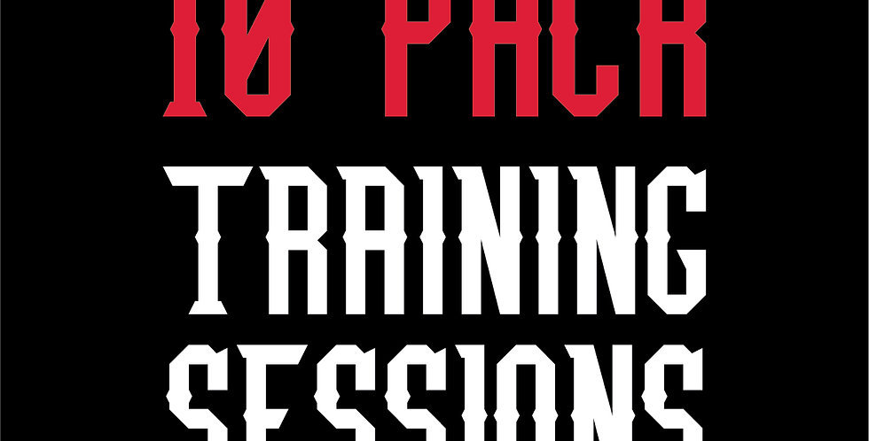 10 PACK TRAINING SESSIONS