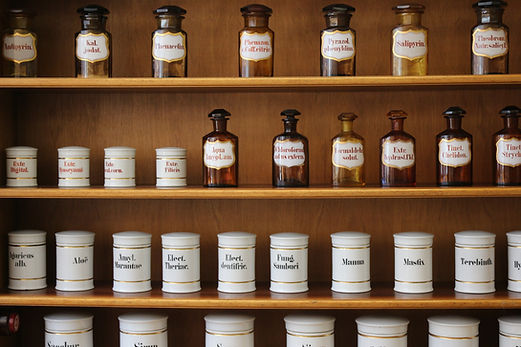 Naturopathic Medicine Shelf