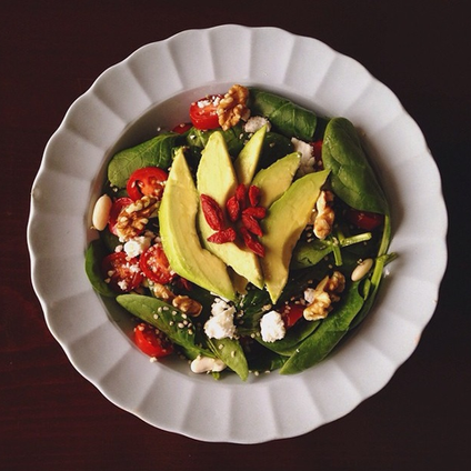 Goji & Avocado Salad