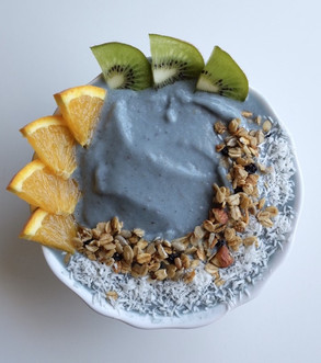 Turquoise Smoothie Bowl Recipe