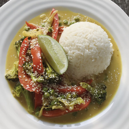 Vegan Coconut Curry