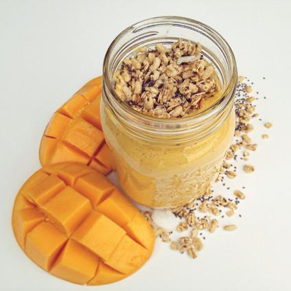 Luscious Mango Smoothie