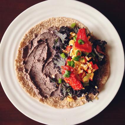 Homemade Burrito Spread