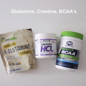 BCAA's, Creatine and Glutamine - What Do They Do?