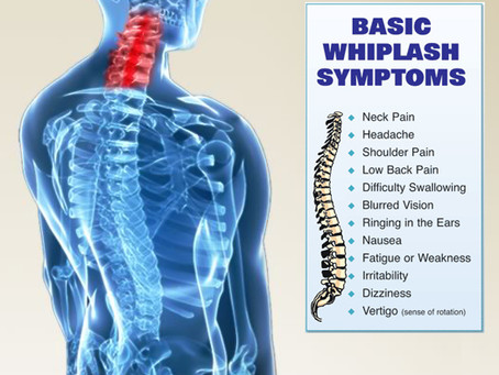 Whiplash- Are your symptoms not resolving as quickly as you would like?