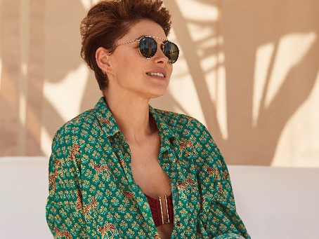 How does Emma Willis look so good by the poolside? TV presenter and style icon shares her secrets.