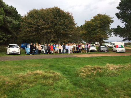 Fiat Rally for Sarcoma UK- A roaring success