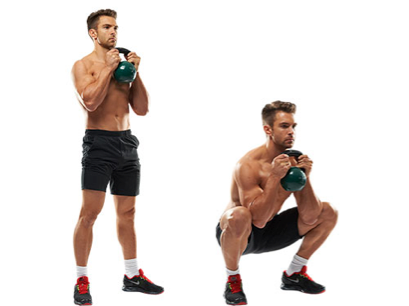 Exercise of the week: Goblet Squat!