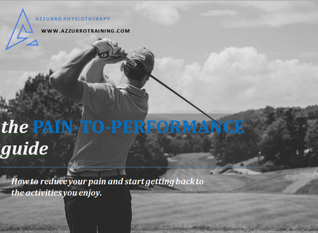 The Brand New Pain-to-Performance Programme
