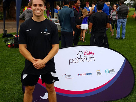 Azzurro physiotherapy- now found at Parkrun