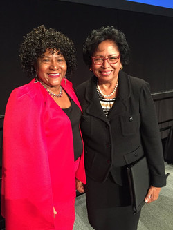 Rev. Annie Belmer with Dr. Ruth Simm