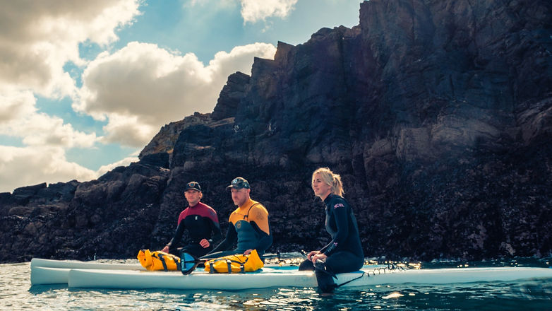 SUP Touring in Newquay