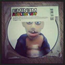 #eminem 7_ picture vinyl of #asslikethat side A