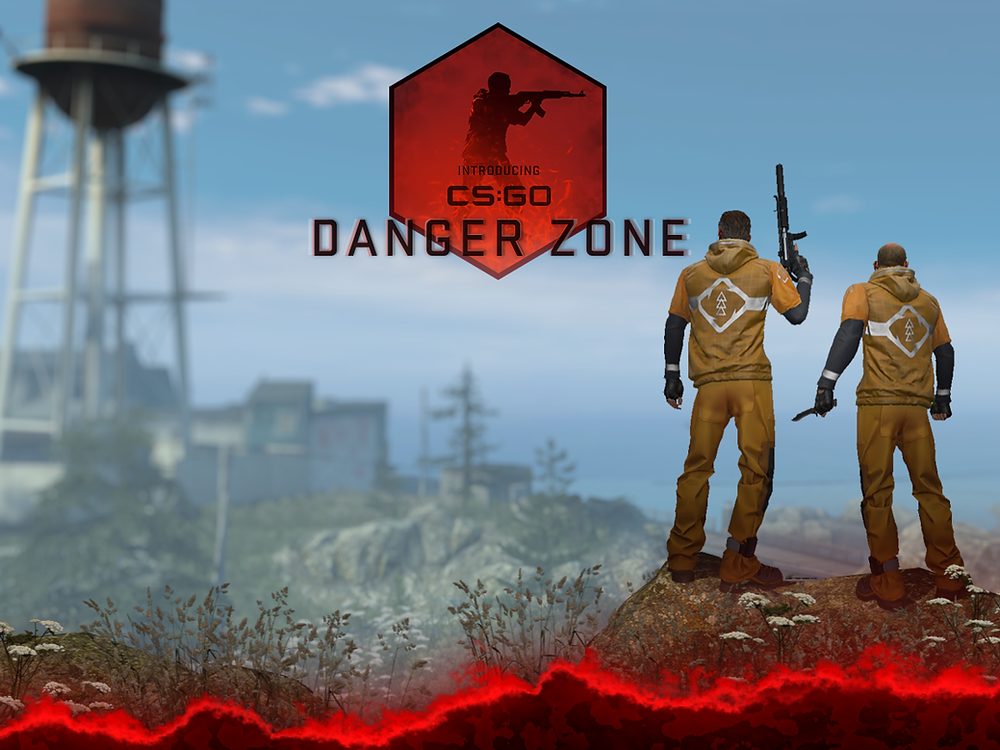 The image for the Counter Strike Danger Zone update