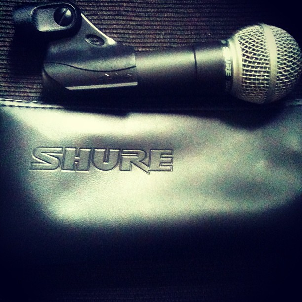 My shure sm58 live performance mic _)_#performance #microphone #shure #live #rapper