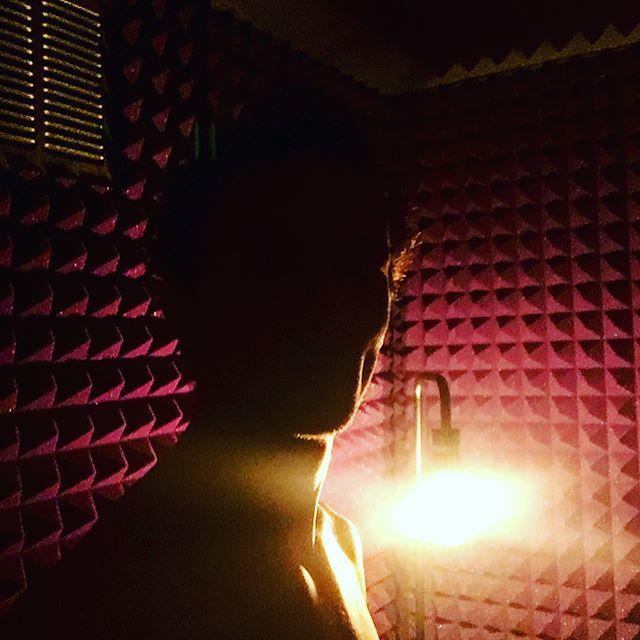Recording vocals is always the fun part _) #vocals #vox #studio #recording #newsong #rode