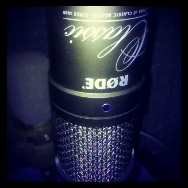 My rose classic II limited edition microphone