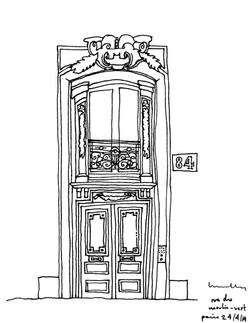 Montparnasse Doorway