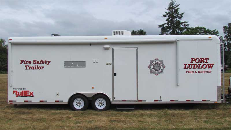 2010 BULL EX FIRE SAFETY TRAILER