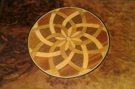 Detailed inlay work