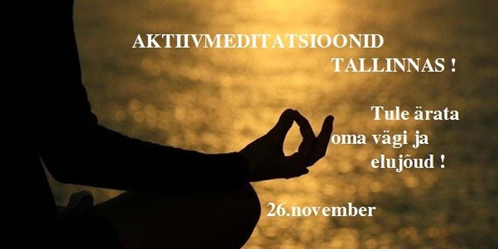 Aktiivmeditatsioonid Tallinnas